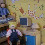 Mini Świat wewnętrzny plac zabaw